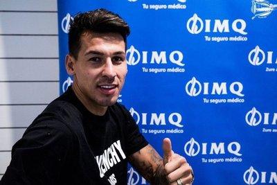 Pérez quiere recuperar su nivel y ayudar al Alavés