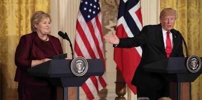 """""""Gracias, pero no"""": Noruegos rechazan emigrar a EE.UU. como desearía Trump"""