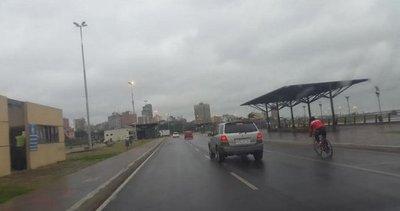 Meteorología emite alerta para ocho departamentos