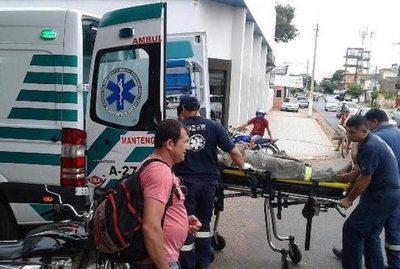 Una hora esperando por una ambulancia
