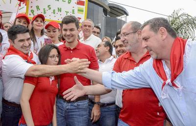 En Alto Paraná fue la peor derrota de Santiago Peña