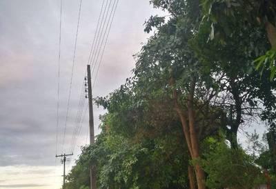 Varias ciudades quedaron sin luz el fin de semana