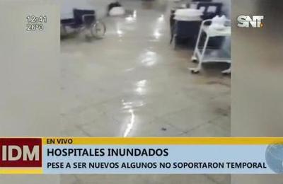 Hospitales bajo aguas