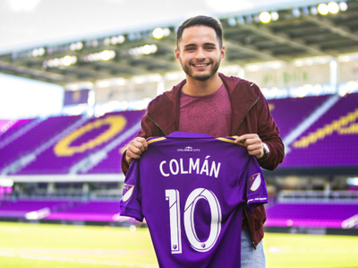 Josué Colmán, recorriendo Orlando