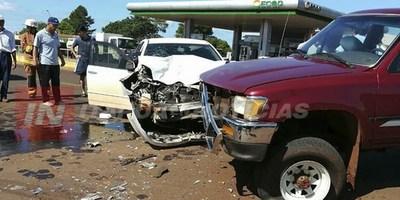 MANIOBRA IMPRUDENTE CAUSÓ ACCIDENTE EN LA PAZ