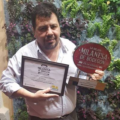 La mejor milanesa de Argentina en Paraguarí