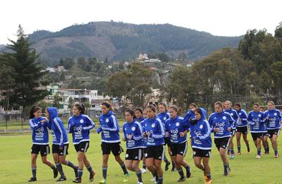 Albirroja Femenina Sub 20: Listas para enfrentar a Ecuador