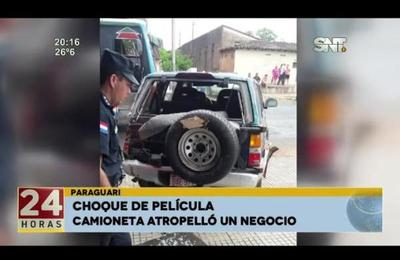 Paraguarí: choque de película
