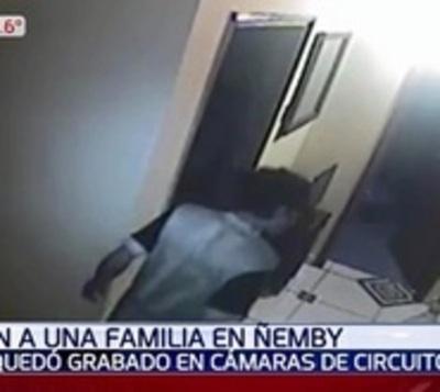 Con gran sigilo: Así un ladrón entró a robar en una casa en Ñemby