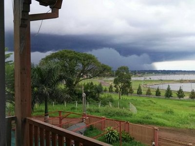Alerta de tormentas para 8 departamentos