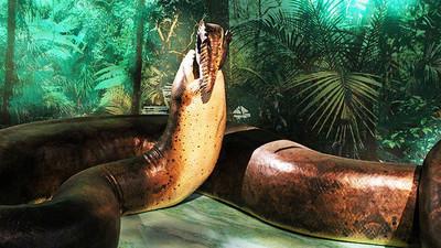 Serpiente prehistórica más grande del mundo