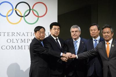 Las dos Coreas juntas en los Juegos Olímpicos de Invierno