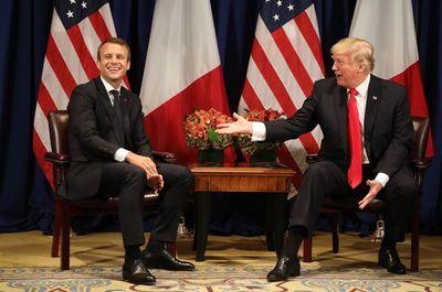 """Macron condena las declaraciones de Trump sobre los """"países de mierda"""""""