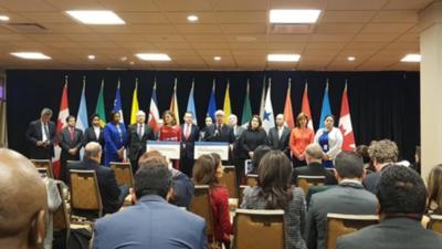 El Grupo de Lima decide hoy en Chile suerte de Venezuela