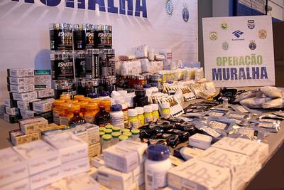 Receita Federal decomisó contrabando por más de USD 80 millones en 2017