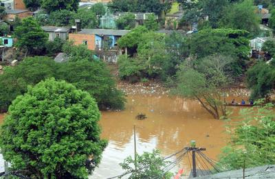 Alivio para San Rafael; nivel  del agua va disminuyendo