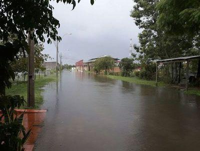 Alerta amarilla en Ñeembucú y fuertes tormentas en el Sur