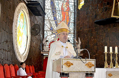 Comienza novenario en honor a San Blas