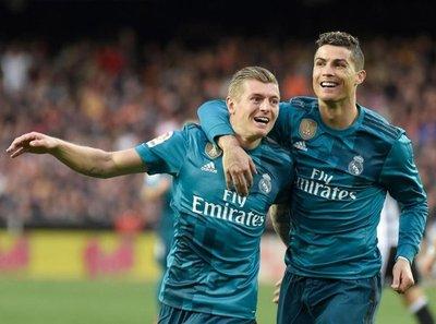 Real Madrid recupera la sonrisa con goleada
