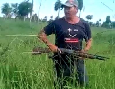 Campesinos balean a capataz en la cabeza