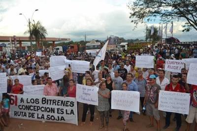 Ciudadanos de Concepción dicen sí al bitrén y Junta declara de interés municipal