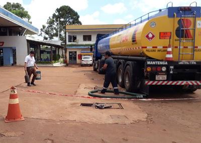 Liberaron a varios camioneros luego del desabastecimiento de combustible