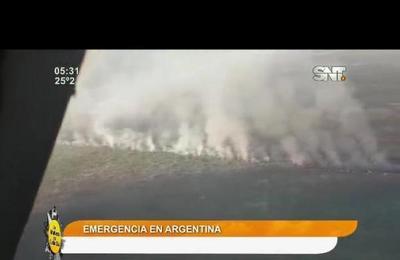Titulares de la prensa: Emergencia en la Pampa argentina