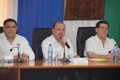Cartes en reunión con gobernadores