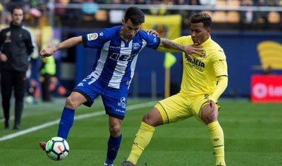 El Alavés de Hernán Pérez logra un triunfo vital ante Villarreal