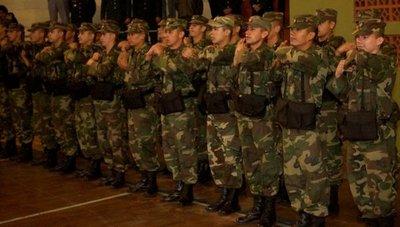 Creen necesario restablecer el servicio militar obligatorio