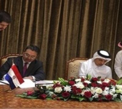 Paraguay y Qatar suscriben acuerdos económicos para inversiones