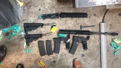 Incautan armas en el Aeropuerto Silvio Pettirossi