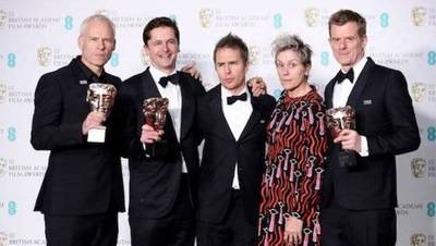 """Del Toro y """"Tres anuncios por un crimen"""", entre los triunfadores de los BAFTA"""