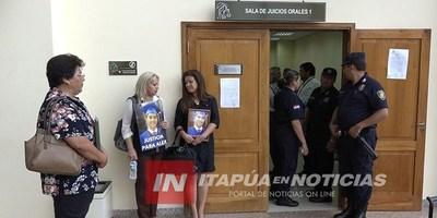 CASO VILLAMAYOR: MADRE NO PUDO INGRESAR A JUICIO CON FOTO DE SU HIJO