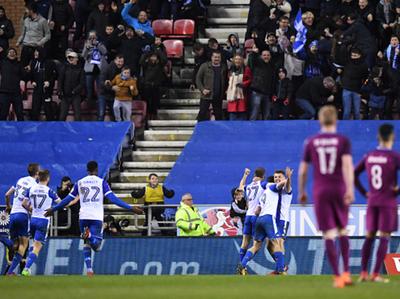 Wigan eliminó al Manchester City de la FA Cup