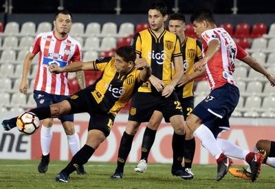 Guaraní igualó ante Junior y resignó su pase a Fase de Grupos