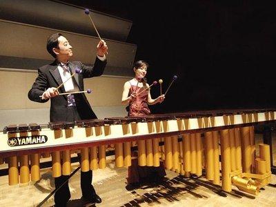 Dúo japonés estrena obra en CPJ, en inusual concierto de marimba