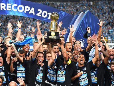 Gremio es campeón de la Recopa Sudamericana