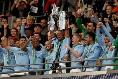 Manchester City gana el primer título de la era Guardiola