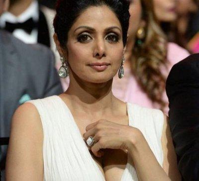 Estrella de Bollywood Sridevi muere de un infarto