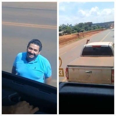Conductor enfurecido por bocinazos disparó contra camión