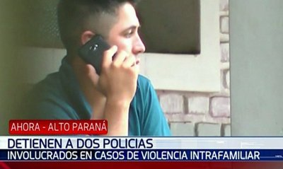 Investigan a policías por casos de violencia familiar