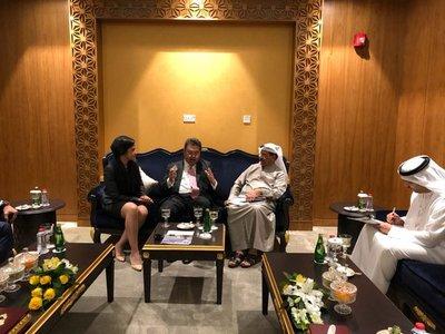 Buscan estrechar vínculos comerciales con Emiratos Árabes