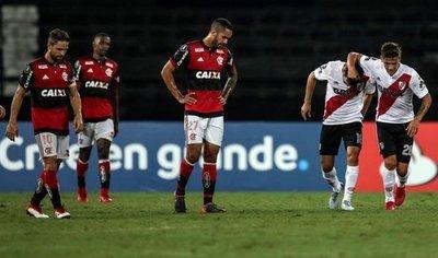River Plate saca un empate en Brasil ante el Flamengo
