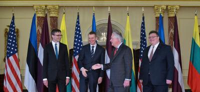 Países bálticos piden a Norteamérica que no desestime la amenaza de Rusia