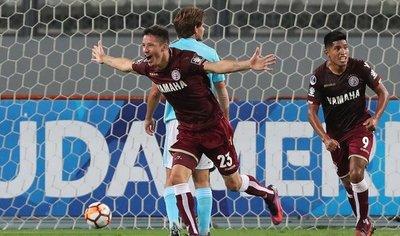 Lanús cae pero avanza en la Sudamericana