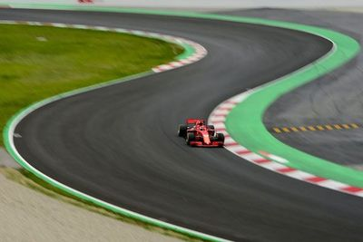 Vettel (Ferrari) se apunta nuevo récord del circuito de Montmeló