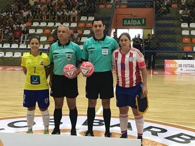 La Albirroja de Futsal Femenino cede en Brasil