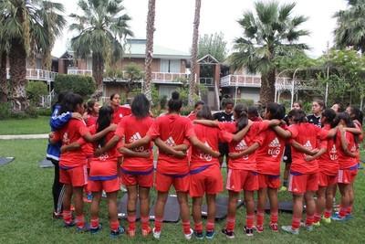 Femenina Sub 17 está lista para jugar ante Bolivia
