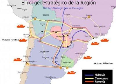 El Chaco apunta a ser el centro logístico de la región